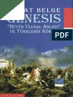 Murat Belge - Genesis; Büyük Ulusal Anlatı Ve Türklerin Kökeni