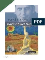 Fakir Baykurt - Kara Ahmet Destanı