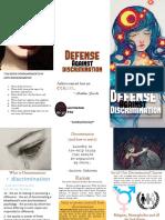 Defense against Discrimination Brochure