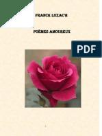 Franck Lozac'h Poèmes Amoureux
