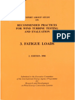 1990 Recommended Practice Fatigue Loads