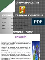 Energia, Trabajo y Potencia