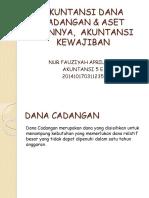 Akuntansi Dana Cadangan & Aset Lainnya, Akuntansi Kewajiban