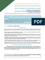 Iaetsd-jaras-review on Vortex Flowmeter Analysis