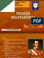 primer militarismo.ppt