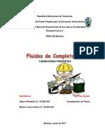 Fluidos de Completacion (Condiciones)