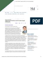 ConJur - Consultor Tributário_ Julgamento Histórico Do STJ Sobre Dupla Tributação