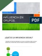 Clase 4 Influencia Social