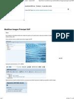 Modificar Imagen Principal SAP