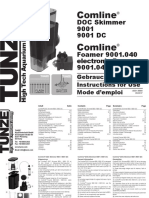 Manual Skimmer Tunze Comline 9001 / 9001 DC