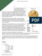 Nobel Da Paz – Wikipédia, A Enciclopédia Livre