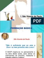 ECAFO FORMAÇÃO BÁSICA 1 - São Vicente de Paulo
