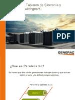 Presentacion de Generadores en Paralelo