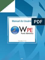 1. Manual W.PE 11