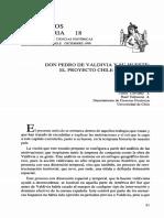 Don Pedro de Valdivia y Su Hueste