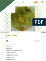 Cookpad Com Id Resep 3035837 Sayur Lodeh