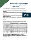 Implantação Da ISO 9001 2015