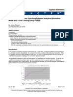 Correlation of Structure Functions between Analytical/Simulation  Model and T3Ster Testing Using FloEFD