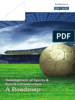Development of Sports & Sports Infrastructure a Roadmap