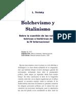Bolchevismo y stalinismo
