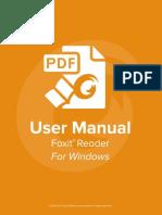 FoxitReader83 Manual