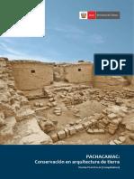 Pachacamac Conservacion en Arquitectura de Tierra . Denise Pozzi-escot Compiladora