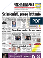 Cronache Di Napoli 4 Aprile 2010