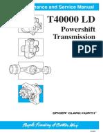 T40000 LD Transmission Manual