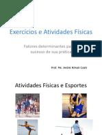 Exercícios e Atividades Físicas