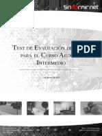 Test Evaluacion Nivel CursoIntermedioArduino 0