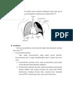 Definisi Dan Klasifikasi Pneumothorax
