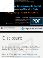 2017 07 26 - The Case for Interoperable Social Determinants of Health Data