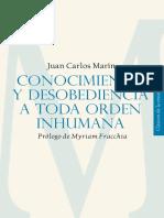Conopcimiento y Desobediencia a Toda Orden Humana Juan Carlos Marin