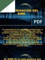 Contaminación Del Aire (exposicion 2)