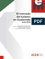 El Mercado Del Turismo en Guatemala Junio 2016