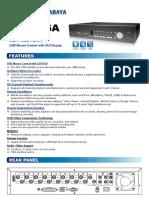 DVR Avc 796D - Avtech Surabaya.pdf