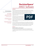 ARIES Software Datasheet