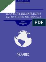 Revista Brasileira de Estudos de Defesa, V. 2, n. 2, 2015. Publicada Pela Associação Brasileira de Estudos de Defesa
