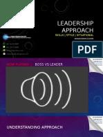 Leadership Approach - Mmrs Fkub Workshop 17 (1)