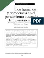 Democracia y Derechos Humanos America Latina