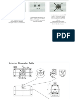 Las Dimensiones de Conexión de La Parte Superior Se Ajustan a La Norma VDI