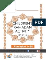1438H Ramadan Activity Book