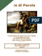 Sete di Parola - XVII settimana T.O. - Anno A.doc