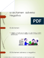 El Dictamen Adverso Negativo (1)