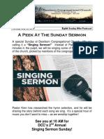 Pastor Bill Kren's Newsletter - July 30, 2017
