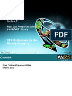 CFX12 Multiphase Nuclear 05 TOC Real Gas and IAPWS