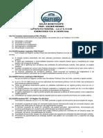 Aulao Beneficente Com o Prof Valmir Rangel - Lei 8112 - Lista de Exercicios