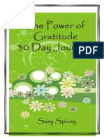 53797957 the Power of Gratitude 30 Day Journal