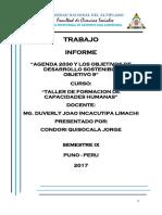 Informe Agenda 2030 Obj 9