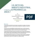 ¿Cual Es El Reto Del Mantenimiento Industrial Para Los Proximos 100 Años?